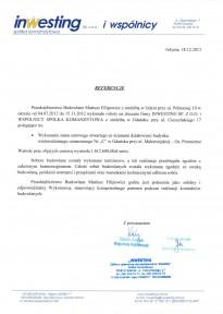 INWESTING - Malomiejska bud. C